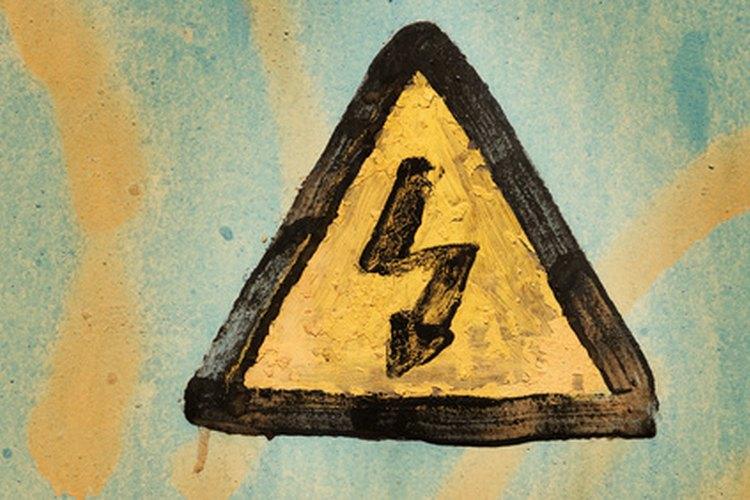Los símbolos de advertencia previenen a la gente de zonas desconocidas o peligrosas.