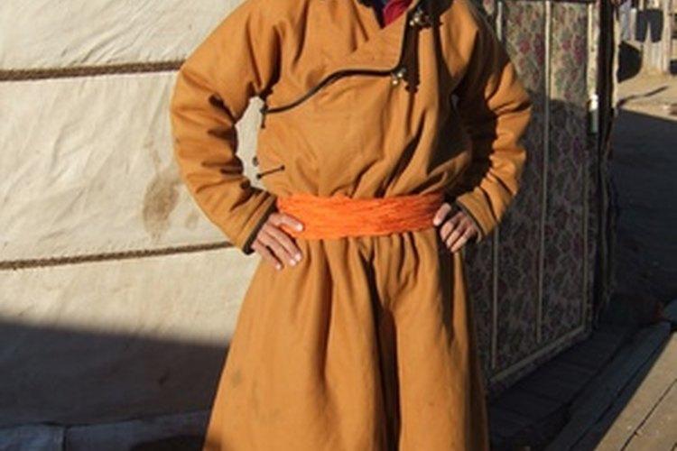 Miembro de una tribu mongola.