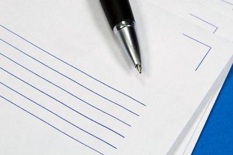 La meta principal de la carta es poder expresar tus intenciones clara y concisamente.