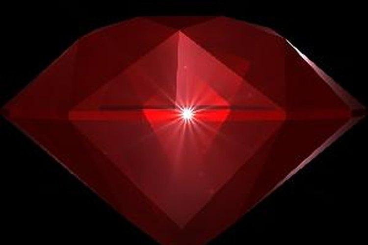 El rubí es una piedra preciosa con gran valor histórico y monetario.