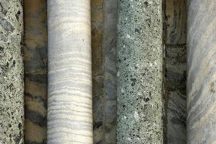 Columnas de mármol.