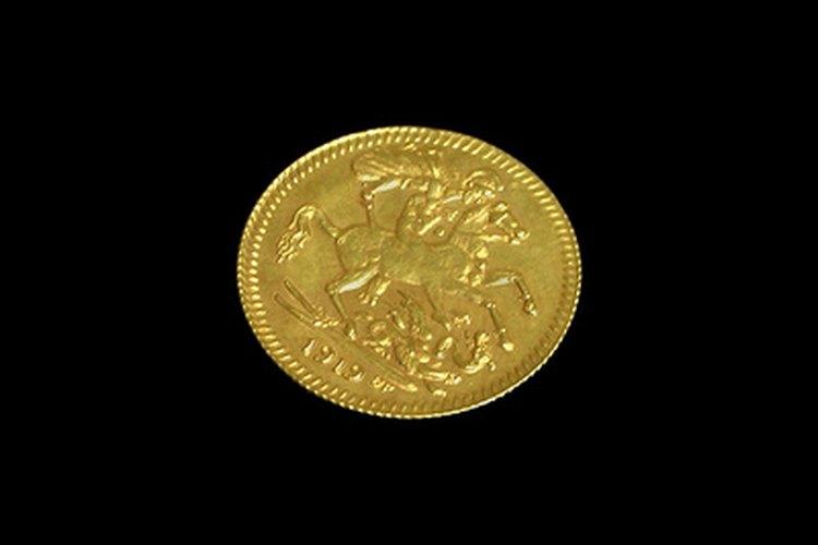 La tradición dice que una moneda dorada trae suerte a los griegos.