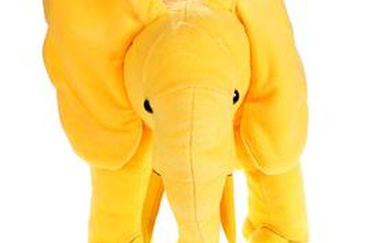 Los animales de safari en color pastel pueden distinguir el sexo del bebé.