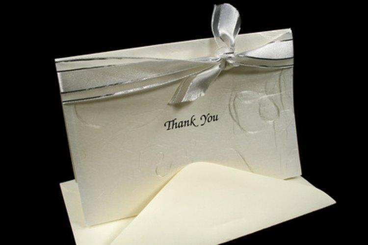 """Tómate un minuto para decir """"gracias"""" por escrito."""