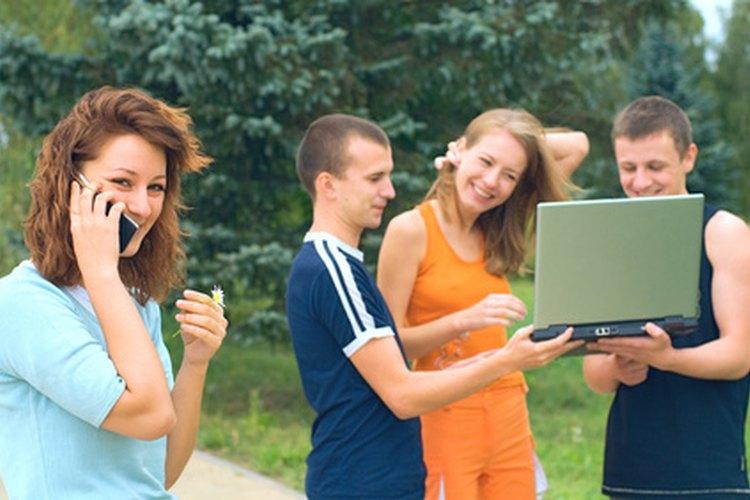 Los preadolescentes y adolescentes responden muy bien a las actividades de grupo.