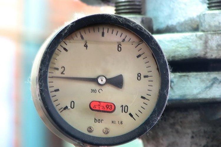 Calibre de amperímetro.
