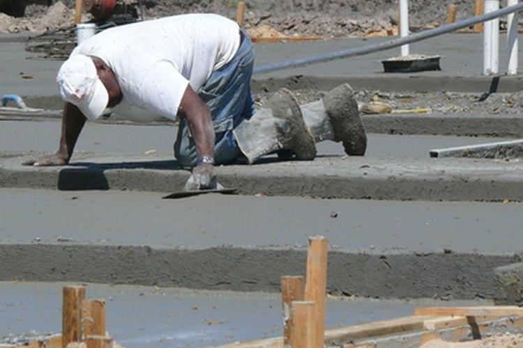 La junta fría es el punto donde dos placas de cemento, hechas en momentos diferentes, se unen.