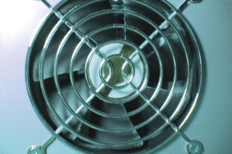 Aspas del ventilador.