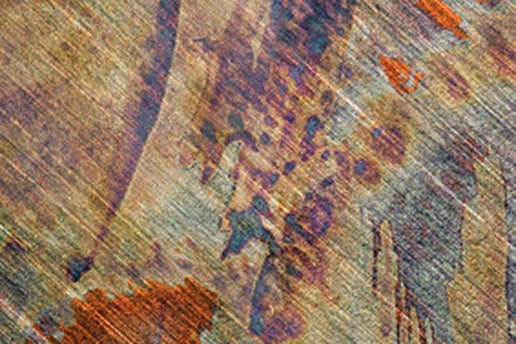El ácido oxálico ayuda a eliminar las manchas de óxido en la madera.