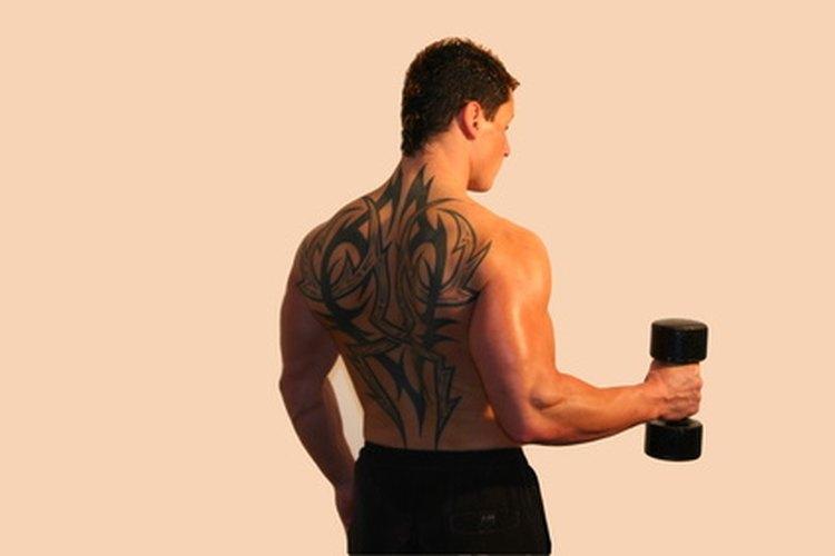 La espalda es una ubicación popular para tatuajes grandes.