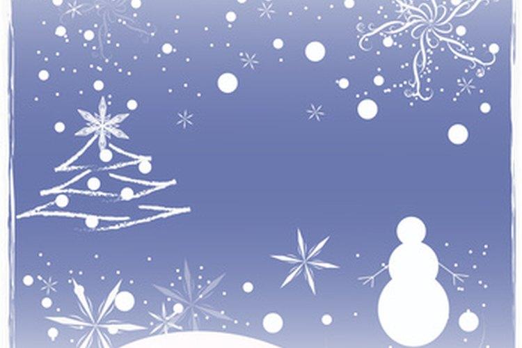 Las iglesias cristianas tienen programas anuales de Navidad.