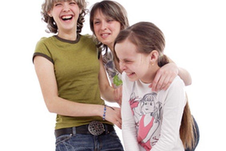 Los grupos de pares son importantes para los adolescentes.