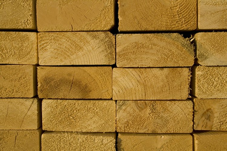 No toda la madera de 2 x 4 pulgadas (5 x 10 cm) se ha creado igual.
