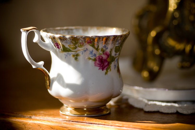 Algunos daños en la porcelana tienen arreglo.