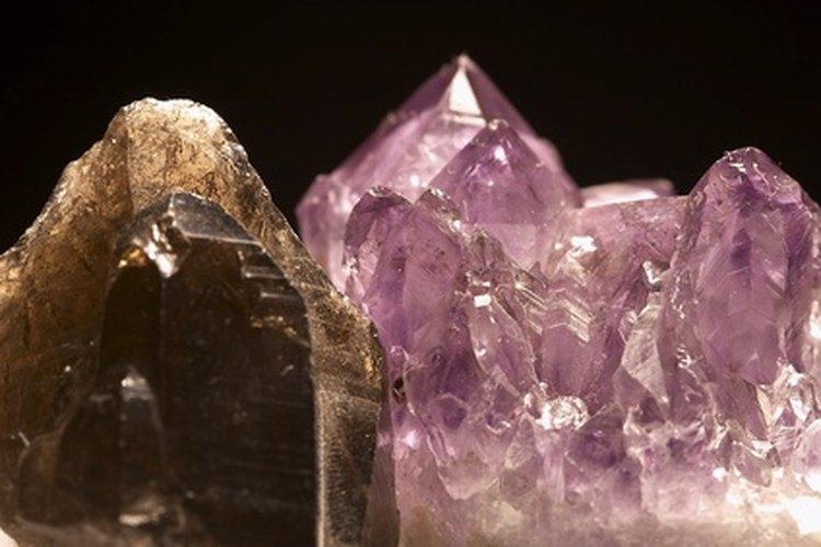 Una sustancia puede formar muchos tipos de cristales.