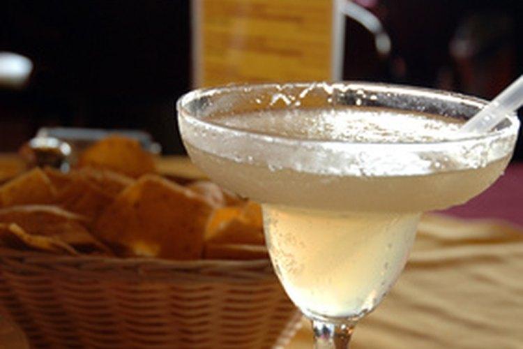 Los margaritas son una elección popular de tragos en los restaurantes mexicanos.