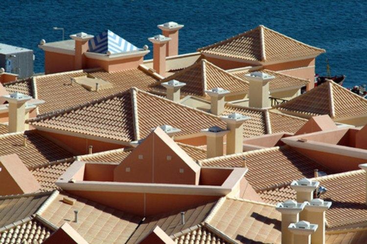 Los materiales utilizados para la construcción de los techos vienen en distintas variedades.