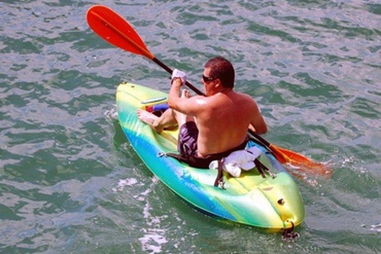 Hay un montón de lugares para hacer kayak en Arizona.