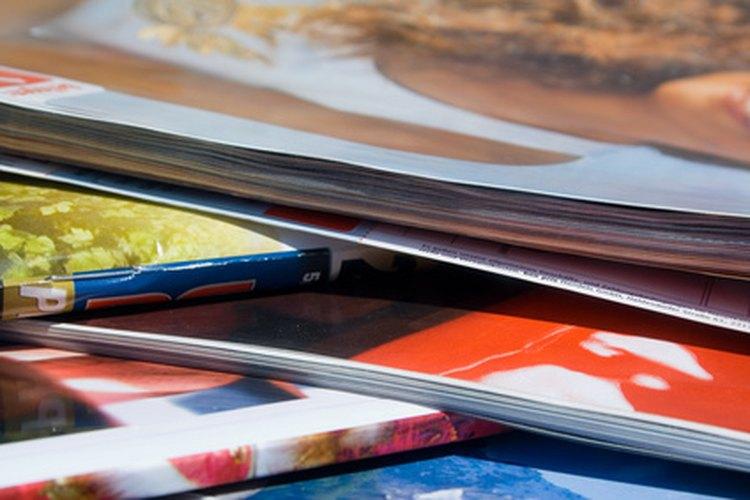 Saca ideas sobre qué pintar de revistas.