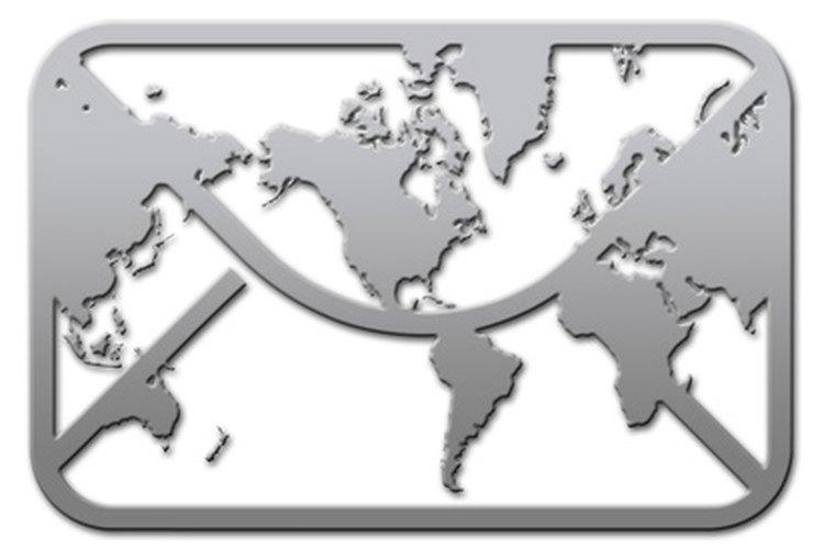 Enviar correo internacional simplemente requiere de la dirección correcta.