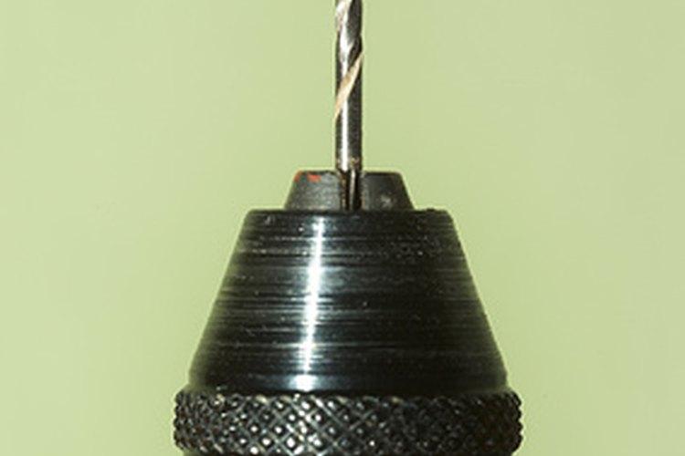 Funcionamiento de un taladro neumático
