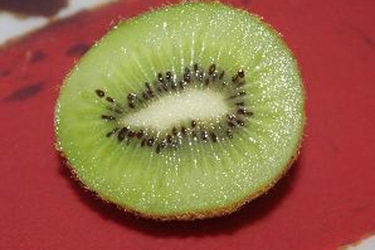 Como la mayoría de las frutas, la mayor parte de las calorías del kiwi provienen de carbohidratos.