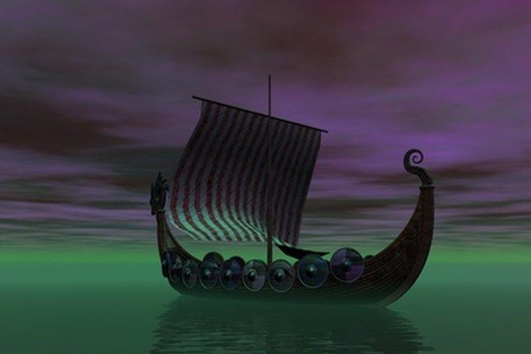 La durabilidad y ligereza de los barcos vikingos fue un factor decisivo tanto en la conquista como en el imperio del comercio.