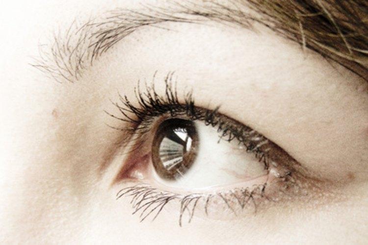 La base para el maquillaje de los ojos comienza determinando las formas de los mismos.