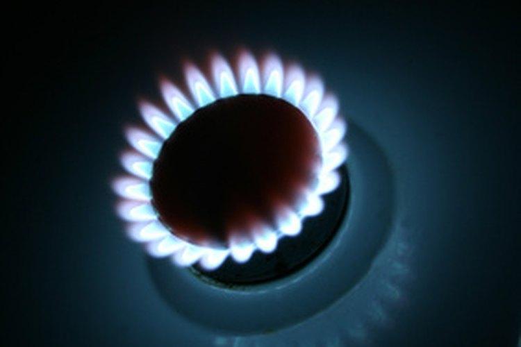 Ajusta la altura de la llama para el quemador de tu cocina de gas.