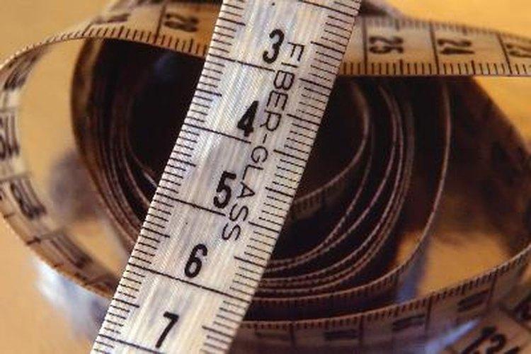 Cintas métricas.