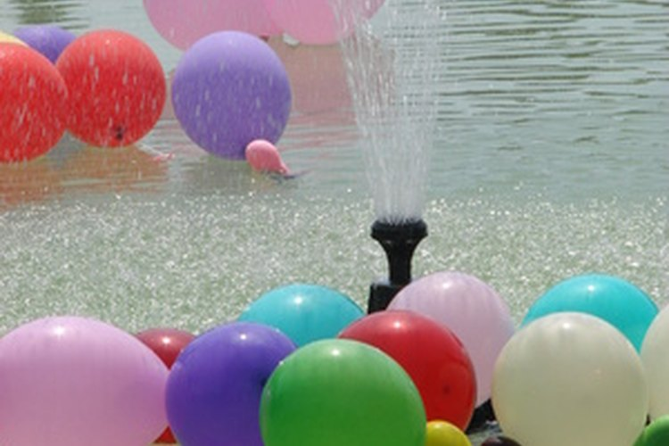 Juegos Con Globos De Agua Para Jovenes