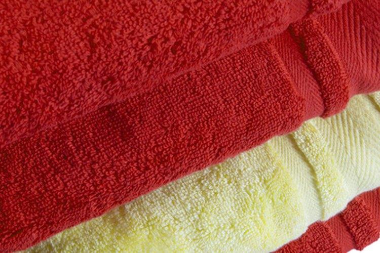 Lava las toallas de baño nuevas antes de usarlas por primera vez.