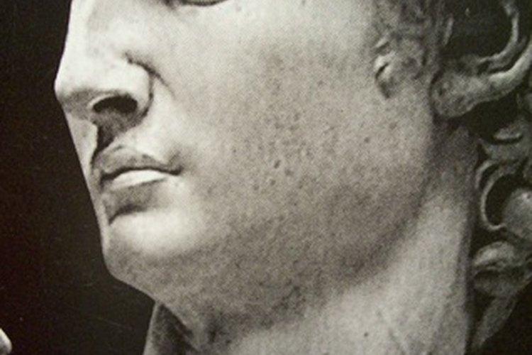 Miguel Ángel hizo una famosa estatua del rey David.