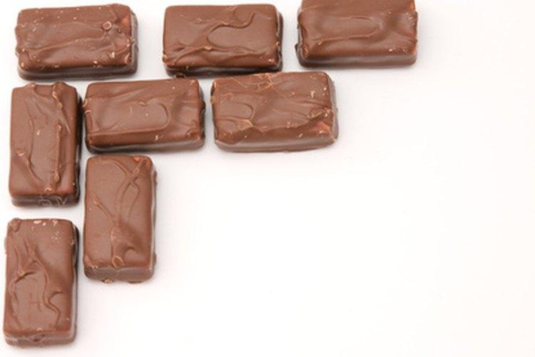 Una pared contrastante en chocolate con leche podría servirle a los menos arriesgados.