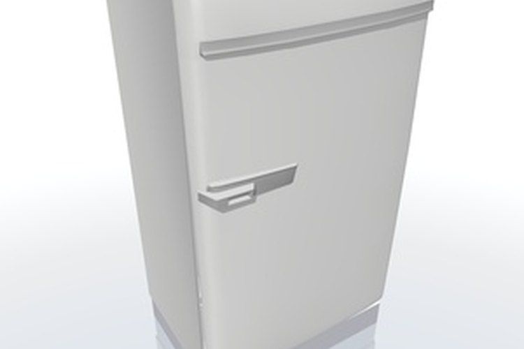 El sellado del refrigerador se gasta con el tiempo.