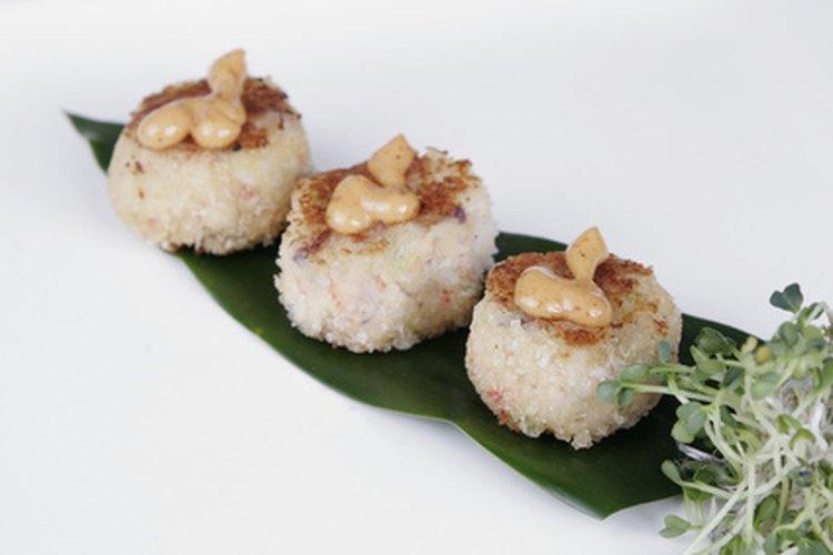 La harina panko se usa muy seguido en platillos marinos como pastel de cangrejo.