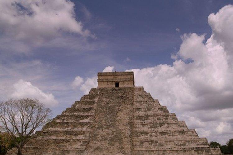 Las pirámides de América Central fueron sitios de rituales religiosos.
