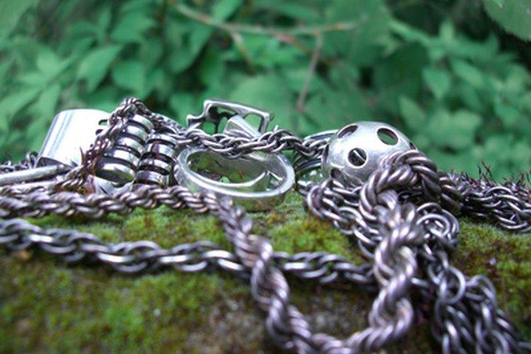 Las cadenas para cuello vienen en una gran variedad de estilos.