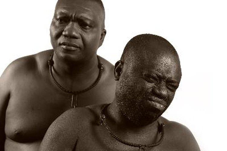 Esclavos africanos.