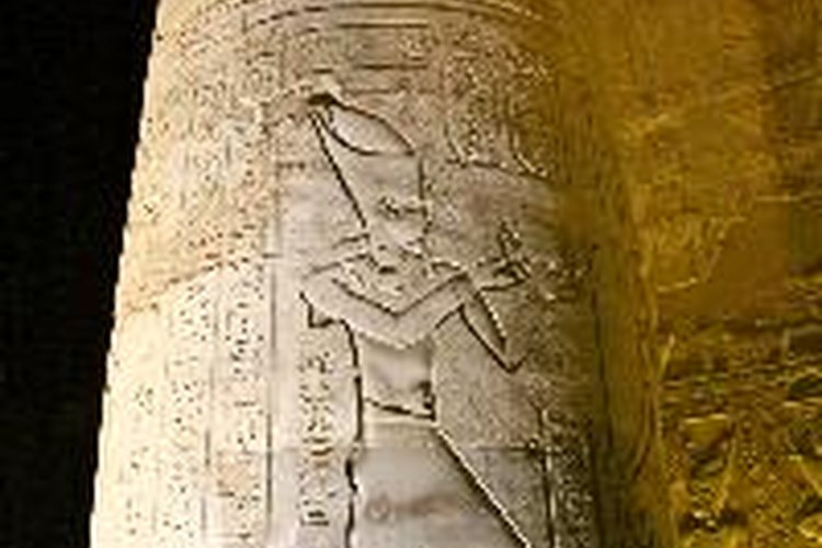 Templo egipcio.