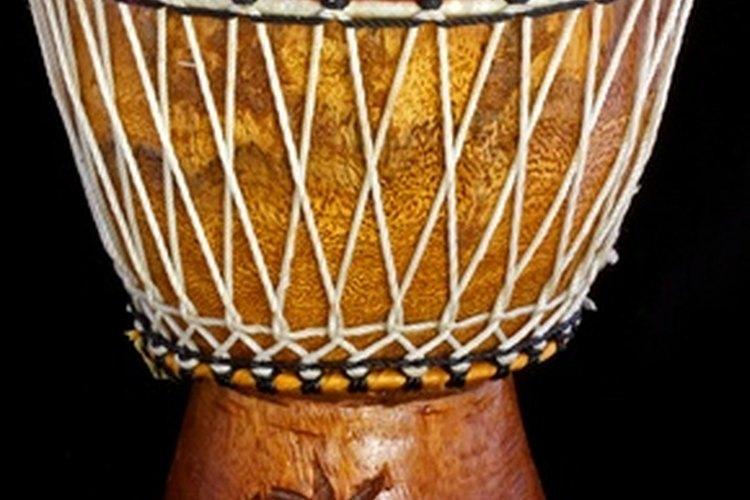 Cómo estás hechos los tambores africanos