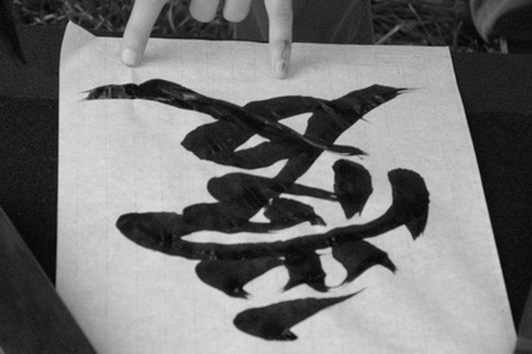 La escritura china y japonesa son similares