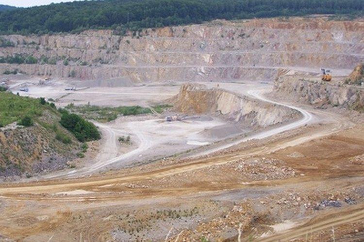 La minería de piedra caliza genera impactos ambientales.