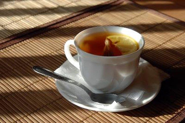 Embarazo y té chai latte.