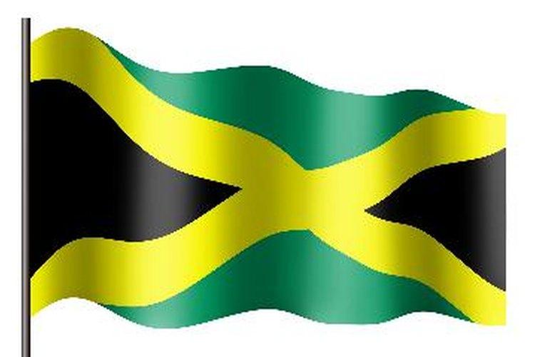 Dale más fuerza al tema de tu fiesta con la bandera de Jamaica.