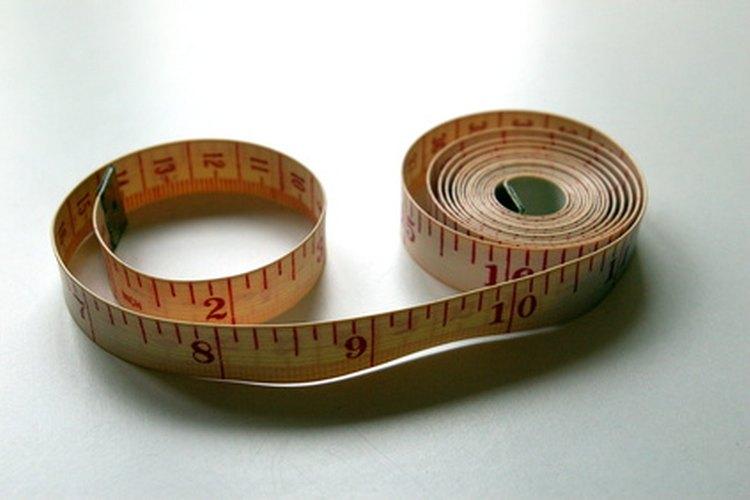Obtén una medida exacta de tu cintura.