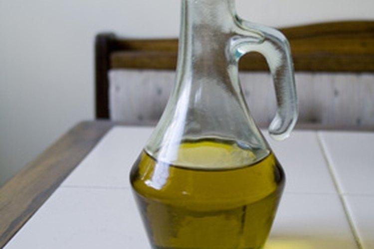 El aceite de olvia evita que la carne se pegue y agrega un rico perfume.