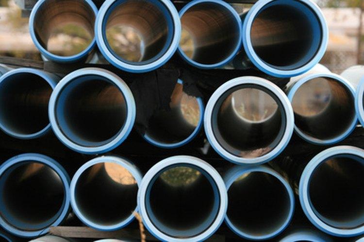 Las tuberías de PVC y uPVC son diferentes formas de tubos de plástico.