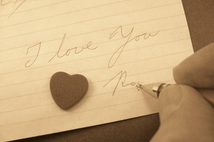 Escribe una carta a tus seres queridos.