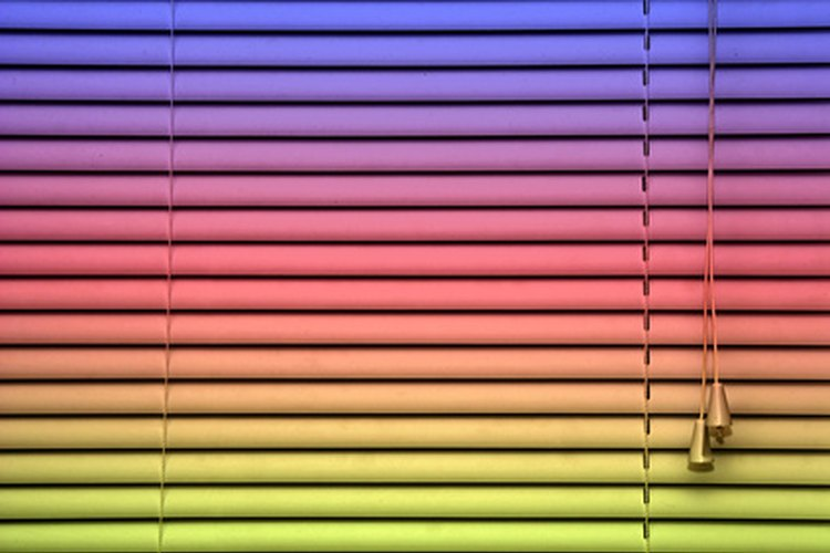 Las persianas vienen en muchos tipos diferentes.